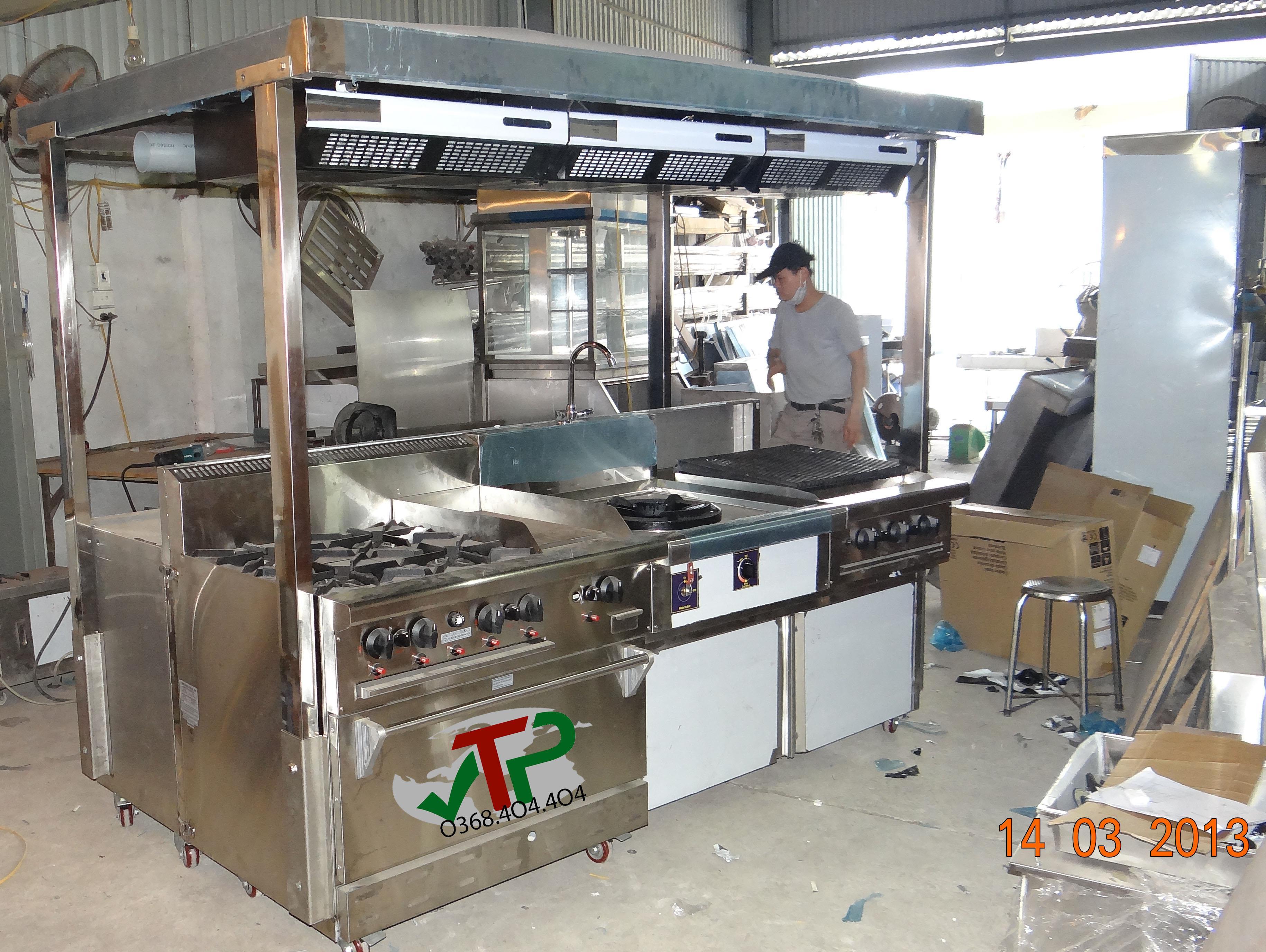 Hệ thống bếp di động